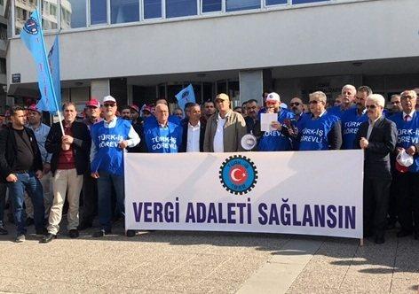 türk-iş işçilerin gelir vergisi oranı düşürülsün